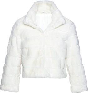 bonprix bpc selection premium Krótka kurtka ze sztucznego futerka