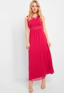 Sukienka ORSAY z okrągłym dekoltem maxi w stylu casual