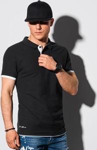 Koszulka polo Ombre w stylu casual z bawełny
