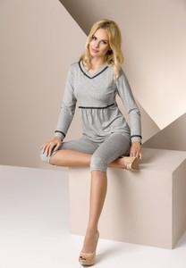 29e6976c33d22c piżama damska frotte - stylowo i modnie z Allani