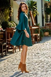 Zielona sukienka Lemoniade z długim rękawem midi