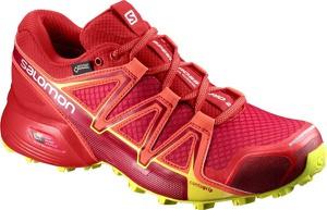 Buty sportowe Salomon sznurowane na platformie w sportowym stylu