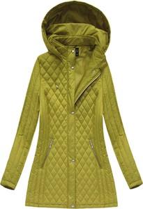 Zielona kurtka libland w stylu casual