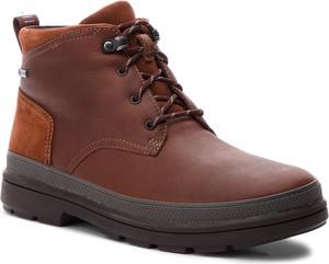 Buty zimowe Clarks sznurowane w stylu casual
