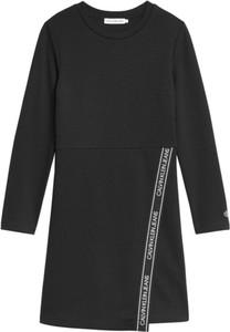 Czarna sukienka dziewczęca Calvin Klein