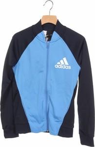 Niebieska bluza dziecięca Adidas dla chłopców