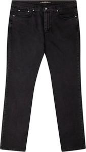 Czarne jeansy Bigsize z bawełny