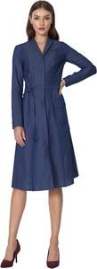 Sukienka Nife z długim rękawem midi