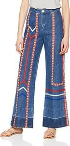 Niebieskie jeansy Intropia