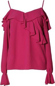 Bluzka TOVA z dekoltem w kształcie litery v