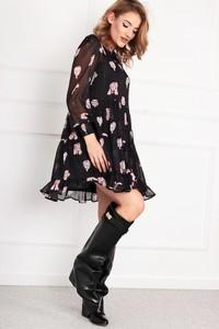 Sukienka N/A z długim rękawem z tiulu