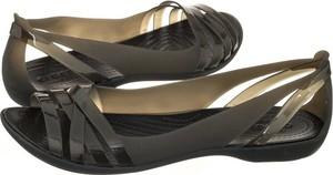 Brązowe sandały Crocs