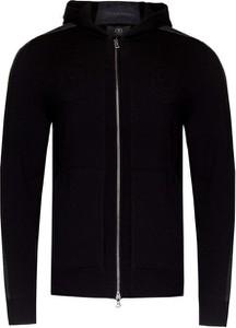 Czarny sweter Bogner z wełny