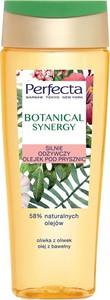 Perfecta, Botanical Synergy, silnie odżywczy olejek pod prysznic, Oliwka z Oliwek&Olej z bawełny, 200 ml