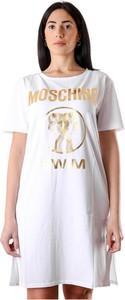 Sukienka Moschino mini w stylu casual z krótkim rękawem