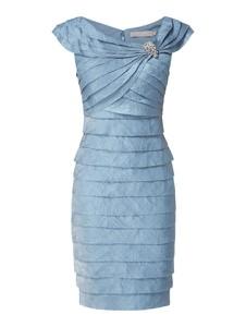 Sukienka Christian Berg Cocktail mini z krótkim rękawem