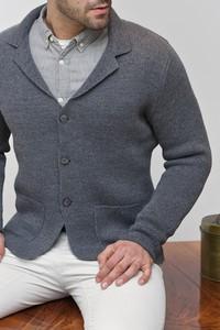 Sweter Lanieri w stylu casual z wełny