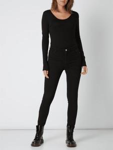 Czarna bluzka Noisy May z bawełny