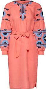 Sukienka Set dopasowana w stylu casual z tkaniny