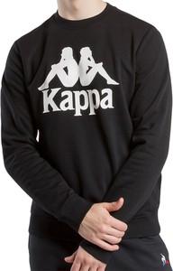 Czarna bluza Kappa w młodzieżowym stylu z bawełny