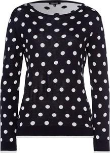 Czarny sweter More & More w stylu casual