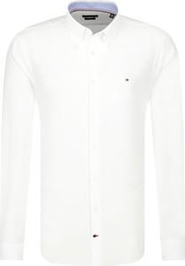 Koszula Tommy Hilfiger z długim rękawem z kołnierzykiem button down