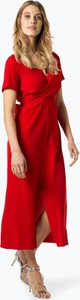 Czerwona sukienka Armani Jeans z dekoltem w kształcie litery v