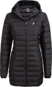 Czarny płaszcz Outhorn w stylu casual