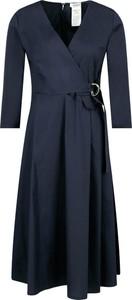 Sukienka Max & Co. z długim rękawem w stylu casual midi