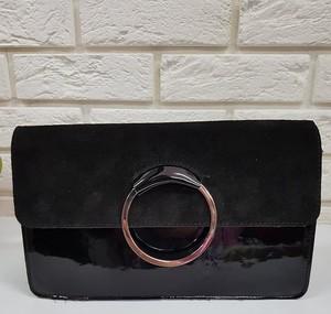 0bdd9c2742b24 torebki kopertówki czarne lakierowane. - stylowo i modnie z Allani