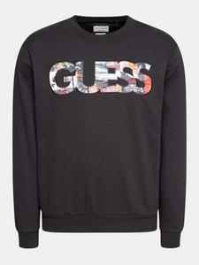Czarna bluza Guess z bawełny w młodzieżowym stylu