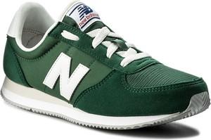 Sneakersy new balance - kl220cgy zielony