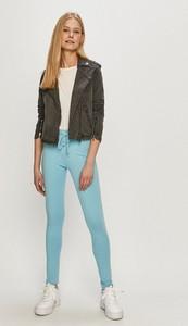 Niebieska kurtka Haily's krótka w stylu casual