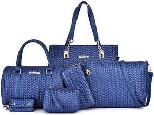 Niebieska torebka Cikelly na ramię