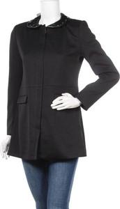 Czarny płaszcz Multiples w stylu casual