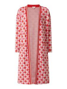 Różowy sweter Milano Italy w stylu casual