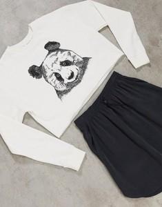 Bluza Topshop z dresówki