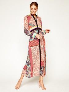 Sukienka Pinko z długim rękawem maxi