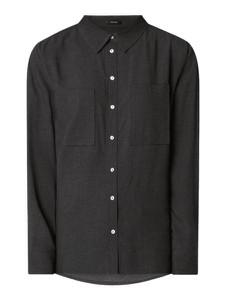 Czarna koszula Opus w stylu casual