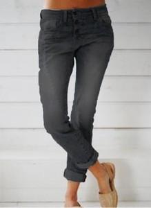 Czarne jeansy Sandbella w stylu casual