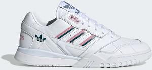 Buty sportowe Adidas Originals ze skóry z płaską podeszwą w sportowym stylu