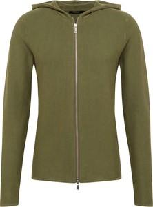 Zielona bluza Jack & Jones z dresówki