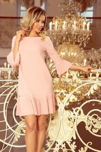 6f1bf571e1 Sukienka NUMOCO z długim rękawem w stylu casual