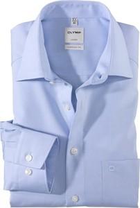 Niebieska koszula Olymp