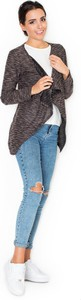 Brązowy sweter Katrus w stylu casual