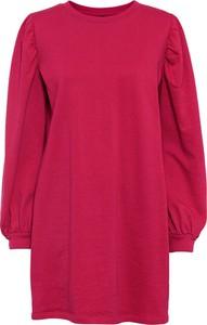 Czerwona sukienka bonprix mini