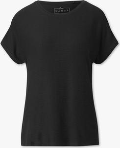 T-shirt CANDA w stylu casual z okrągłym dekoltem