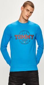 Niebieska bluza Tommy Jeans z dzianiny