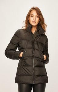 Czarna kurtka G-Star Raw długa w stylu casual
