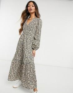 Sukienka Y.A.S z długim rękawem z dekoltem w kształcie litery v